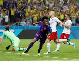 """Ba Lan 0-3 Colombia: Tan nát """"Đại bàng trắng"""""""