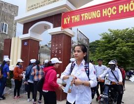 Quảng Ngãi: Gần 56% bài thi THPT Quốc gia dưới điểm trung bình