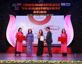 VinMart & VinMart+ nhận giải thưởng Top 100 sản phẩm - Dịch vụ tốt nhất