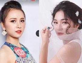 Những nữ sinh xinh xắn tại cuộc thi tài sắc sinh viên Imiss Thăng Long 2018