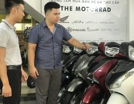 """Mua xe máy cũ mùa cá độ World Cup: Đừng mơ xe """"ngon"""", giá rẻ"""
