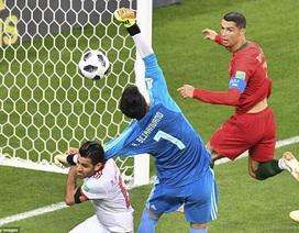 Những khoảnh khắc C.Ronaldo suýt khiến Bồ Đào Nha gặp thảm họa trước Iran