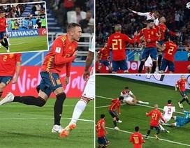 Công nghệ VAR cứu Tây Ban Nha thoát thua trước Ma rốc như thế nào?