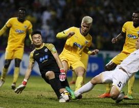 Bùi Tiến Dũng bắt chính, FLC Thanh Hoá hạ Hải Phòng để vào top 3 V-League