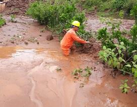 Khẩn trương khắc phục sự cố lưới điện sau mưa lũ tại miền Bắc