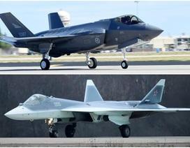 """So sánh hai """"thế lực bầu trời"""" Su-57 của Nga và F-35 của Mỹ"""