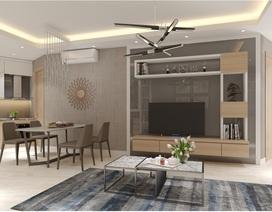 Thiết kế ấn tượng tại căn hộ panorama dự án VC2 Golden Heart