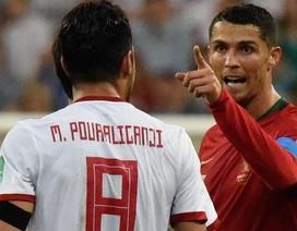 """HLV Iran: """"C.Ronaldo xứng đáng bị đuổi khỏi sân"""""""