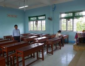 Buổi thi cuối, nhiều phòng thi chỉ có 1-2 thí sinh