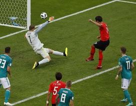 Đức 0-2 Hàn Quốc: Nhà vô địch bị loại
