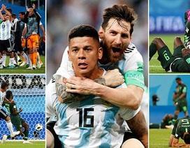 Người hùng Messi và tội đồ Mascherano trong trận chiến Argentina-Nigeria