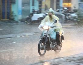 Cả nước mưa giông, đề phòng mưa đá và gió giật mạnh