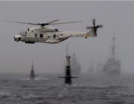 NATO tập trận rầm rộ liên tiếp gần biên giới Nga