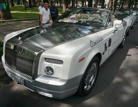 Cận cảnh bộ đôi Rolls-Royce của ông chủ cafe Trung Nguyên