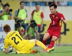 Văn Toàn từng ghi bàn vào lưới thủ môn đội tuyển Hàn Quốc