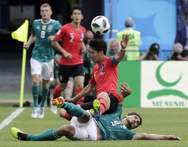 Đức bị loại cay đắng ở World Cup 2018: Phế truất ngôi vua