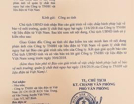 """Ăn """"trái đắng"""", doanh nghiệp báo cáo cả Bí thư và Chủ tịch tỉnh Bắc Giang!"""