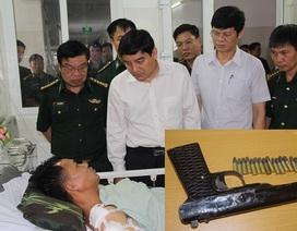 Hai trinh sát biên phòng bị thương khi vây bắt thầy giáo vận chuyển ma túy