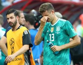 Những giọt nước mắt đắng cay của tuyển thủ Đức