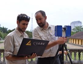 Di tích Việt Nam đầu tiên được bảo tồn kỹ thuật số