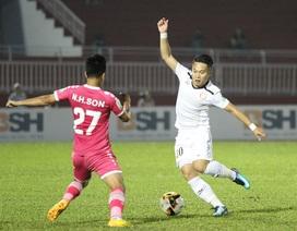 Hai đội bóng TPHCM tranh suất trụ hạng tại V-League