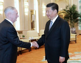 Bộ trưởng Quốc phòng Mỹ bàn về Biển Đông khi hội đàm với Chủ tịch Trung Quốc