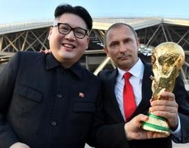 "Bản sao Kim Jong-un - Putin ""gây sốt"" tại World Cup"
