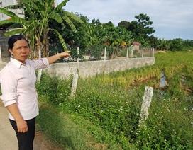 """Ninh Bình: Gia đình liệt sỹ """"tố"""" bị trưởng thôn chiếm đoạt đất sản xuất!"""