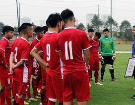 HLV Hoàng Anh Tuấn chốt danh sách U19 Việt Nam dự giải Đông Nam Á