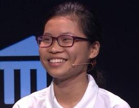 Nữ sinh chuyên Ams bứt phá vượt trội ở cuộc thi tuần Olympia
