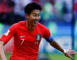 Ghi bàn vào lưới Đức, Son Heung-min được xin miễn nghĩa vụ quân sự