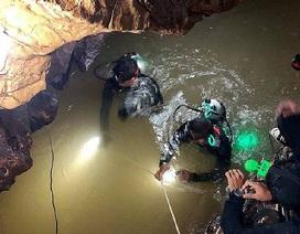 """Chiến dịch giải cứu đội bóng Thái Lan vào giai đoạn """"nước rút"""""""