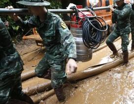 Thái Lan dốc toàn lực cứu đội bóng mất tích trong hang