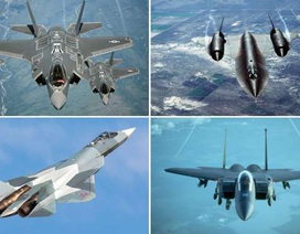 """Những """"chim sắt"""" bay nhanh nhất thế giới"""
