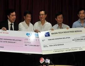 Người dân Malaysia góp gần 7 triệu USD giúp chính phủ trả nợ