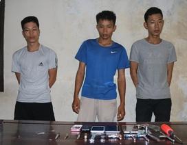 Tóm gọn nhóm thanh niên chuyên trộm xe máy