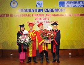 Học viện Tài chính tuyển sinh Thạc sỹ Tài chính, học 12 tháng tại Việt Nam nhận bằng Pháp