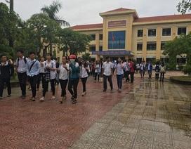 Thi lớp 10 tại Quảng Bình: Thí sinh than đề môn chuyên Toán, Vật lý khó nhằn