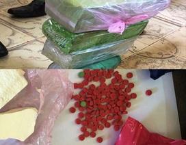 Bắt giữ gần 6000 viên hồng phiến và gần 3kg ma túy đá