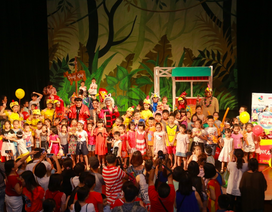 """""""Bay lên những ước mơ"""" - show diễn ấn tượng mùa hè dành cho trẻ em"""