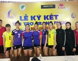 Đội bóng chuyền nữ TPHCM có nhà tài trợ mới