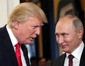 """Tổng thống Putin khen ông Trump """"can đảm"""" khi quyết gặp ông Kim Jong-un"""