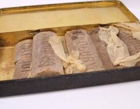 Tìm thấy sô cô la 103 tuổi của người lính trong Đại chiến Thế giới I