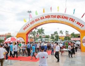 """""""Cháy vé"""" vào cổng Ngày hội Bia Hà Nội tại Quảng Trị"""