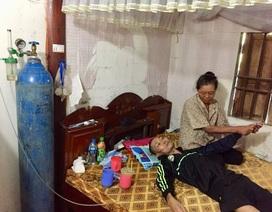 Nhiều tấm lòng đến với chàng trai trẻ bị xẹp phổi nằm chờ chết