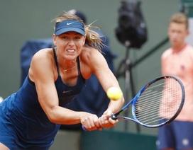 """Roland Garros: """"Búp bê"""" Sharapova dừng bước ở tứ kết"""