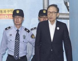 Cựu tổng thống Hàn Quốc than phiền về cuộc sống khó khăn trong tù