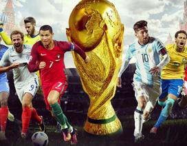 VTV gần như chắc chắn sở hữu bản quyền truyền hình World Cup 2018