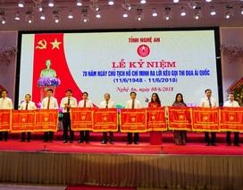 Nghệ An: 15 tập thể nhận Cờ thi đua của Thủ tướng Chính phủ