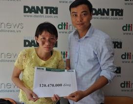 Bạn đọc giúp chị Thúy Hằng bị ung thư hơn 120 triệu đồng